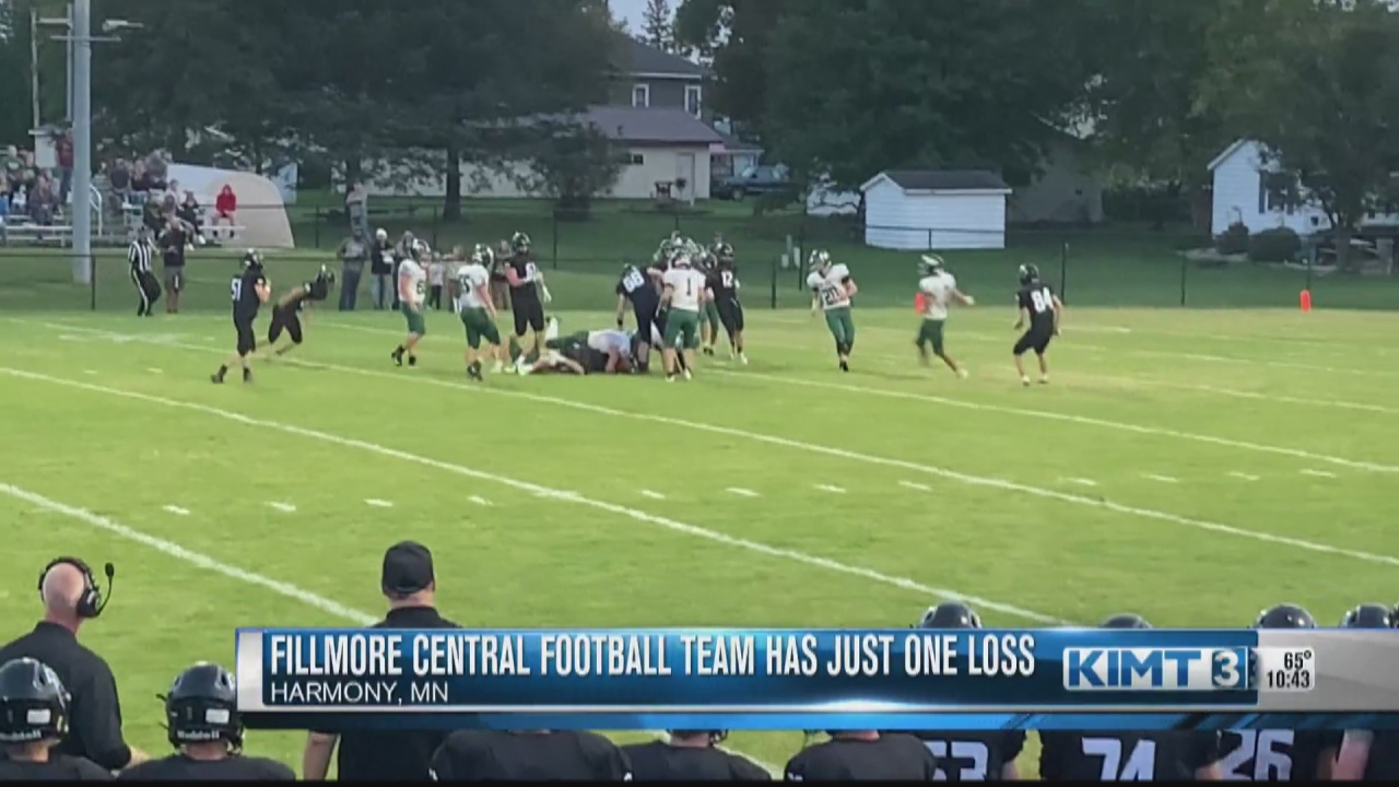 Image for The Fillmore Central football team is making some noise this season