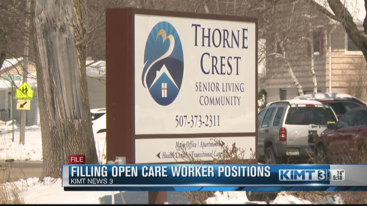Image for Are local care facilities facing staffing shortages?