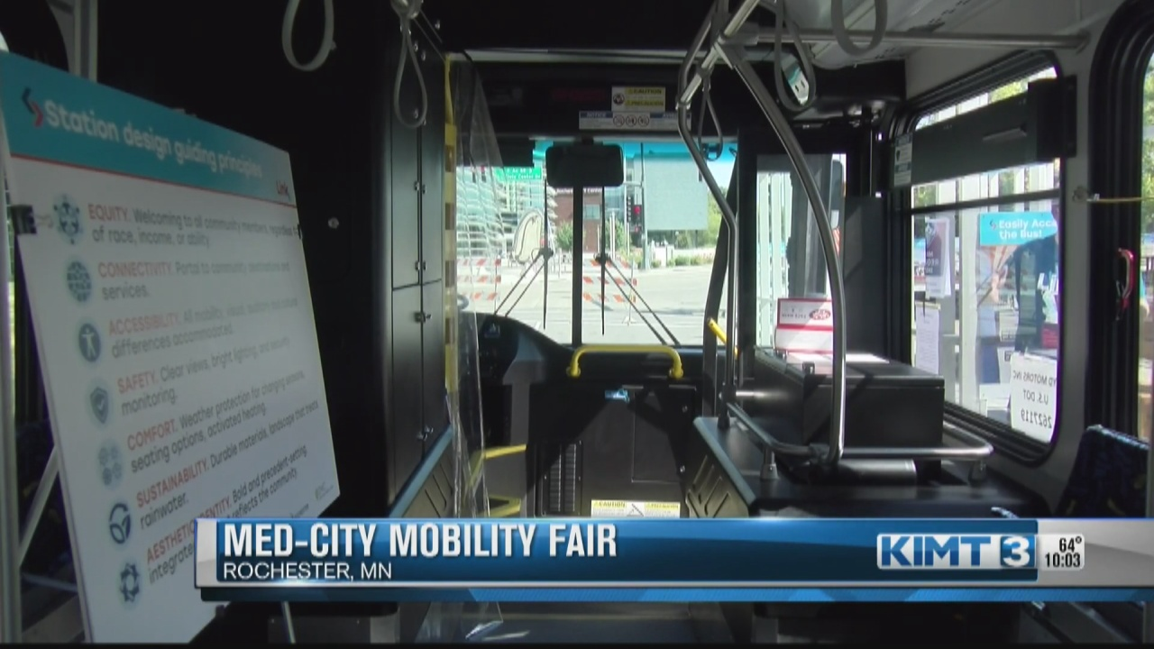 Image for City of Rochester highlights diverse transportation options with mobility fair