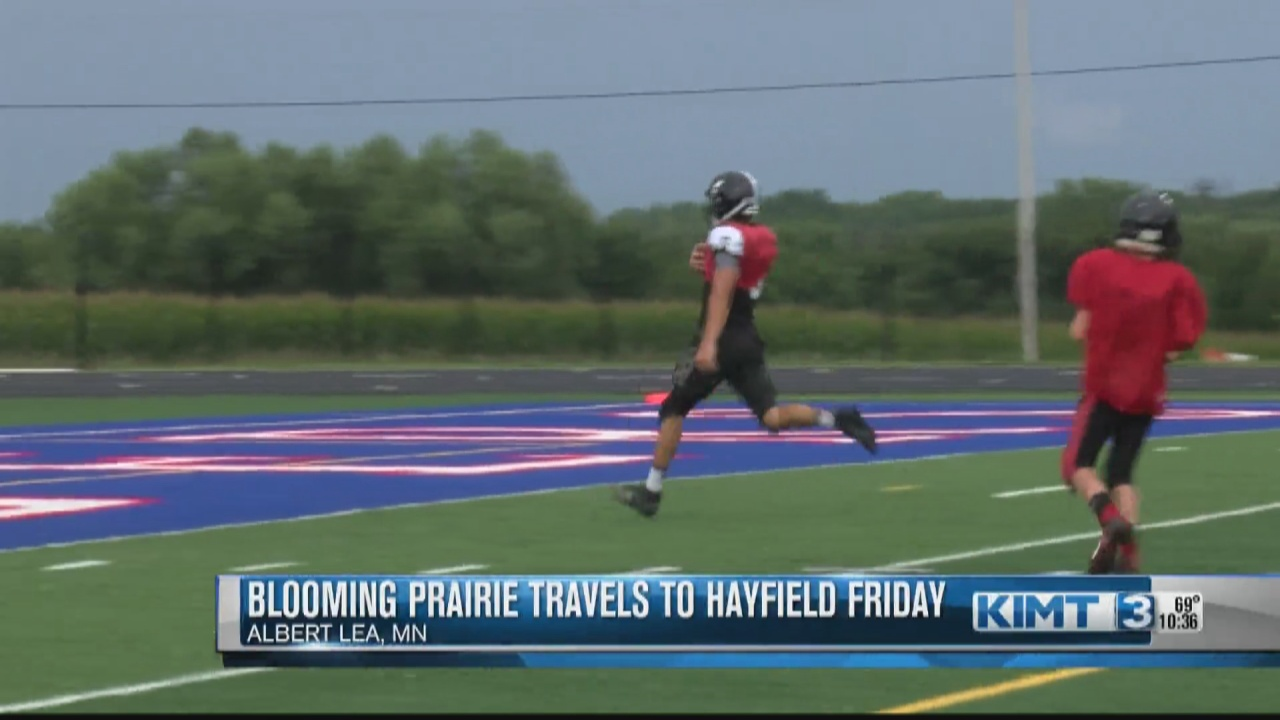 Image for Blooming Prairie football team hopes to build on last season's success