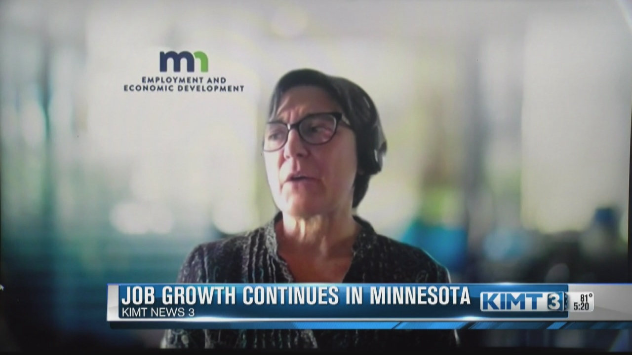Image for Job growth holds steady across Minnesota
