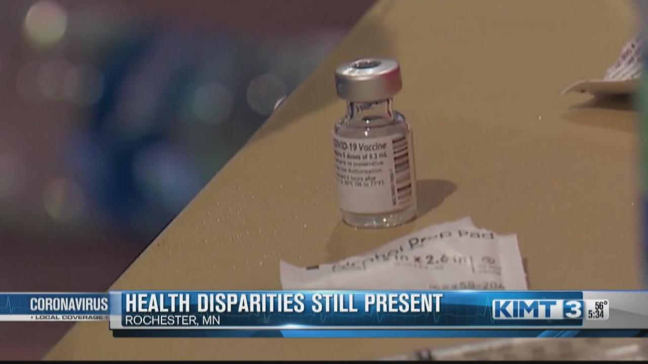 Image for Health disparities are still present