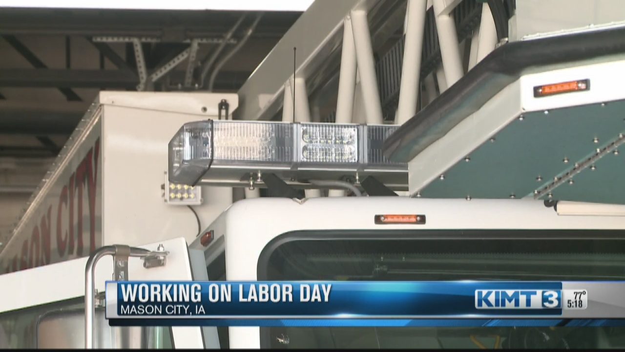 Image for For some industries, having Labor Day off is not optional