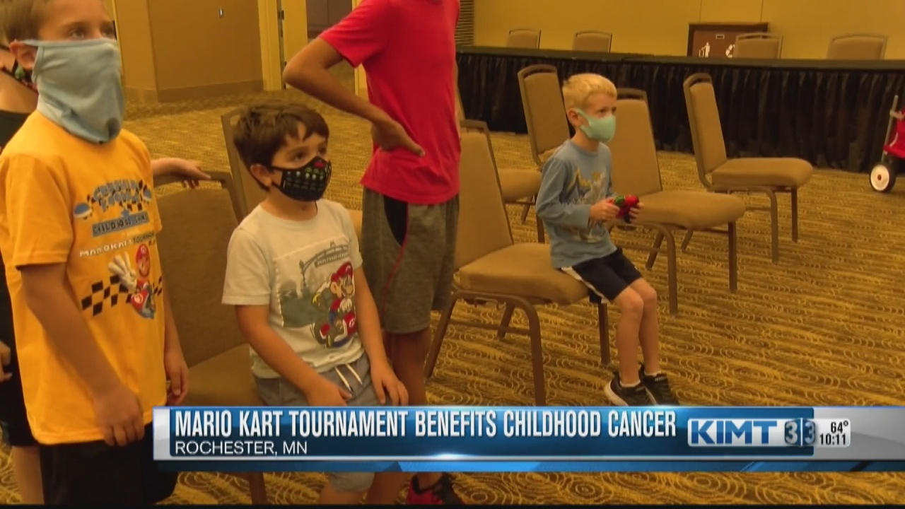 Image for Annual Mario Kart tournament benefits childhood cancer