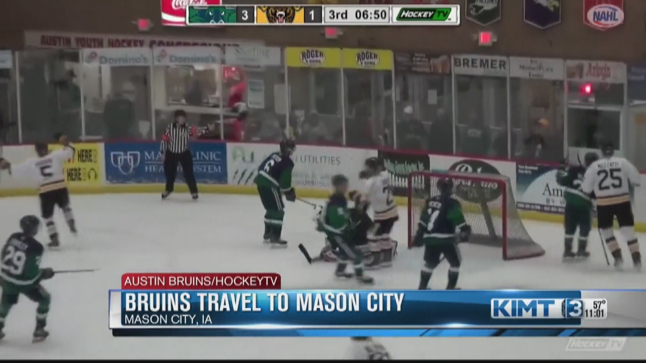 Image for The Austin Bruins travel to Mason City to take on the Bulls