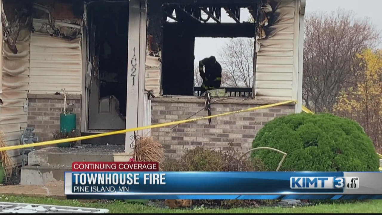 Image for Pine Island Townhome Fire, possibly connected to assault