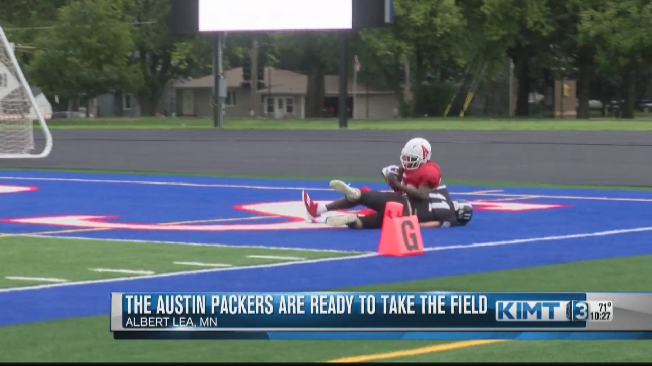 Image for The Austin Packers football team is ready to be back on the field