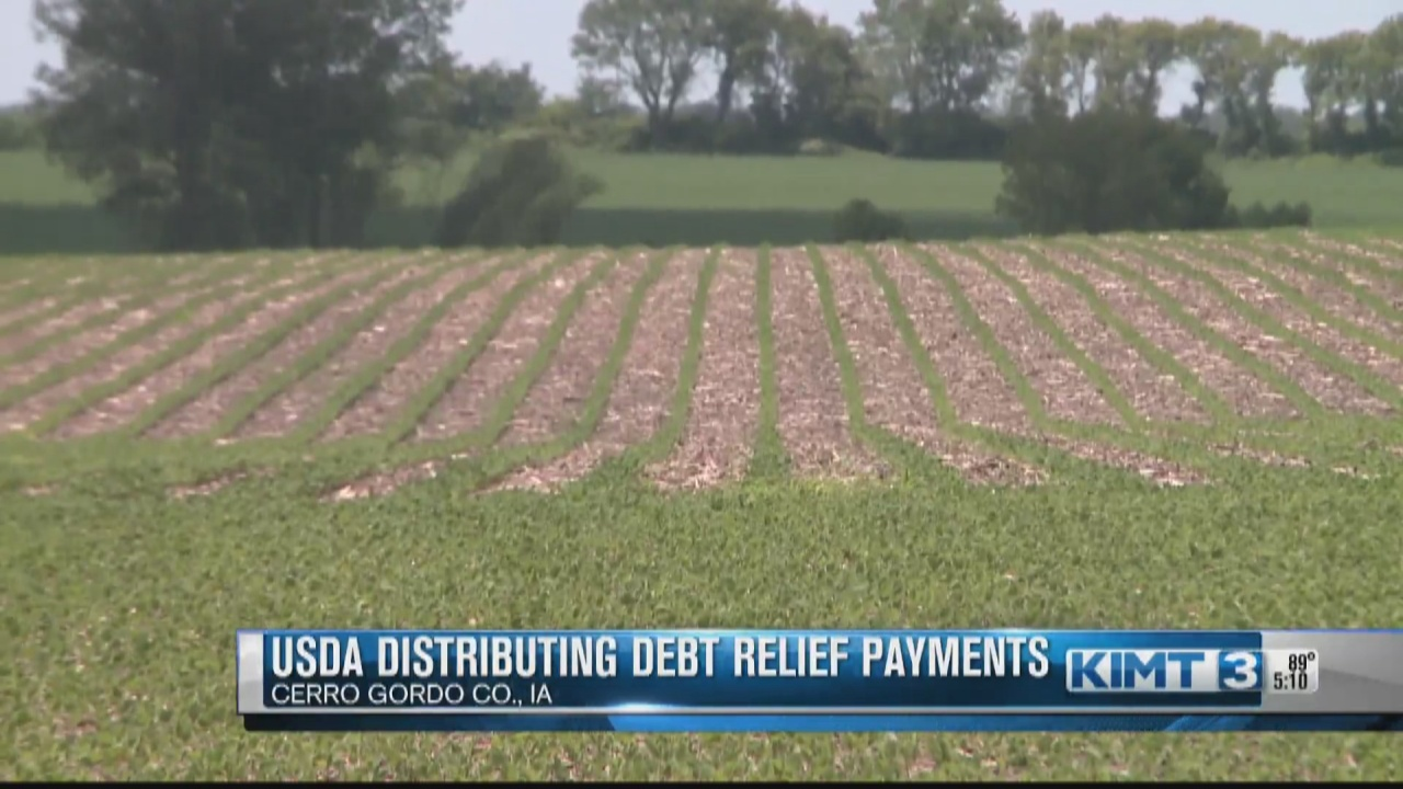 Image for USDA delivering debt relief payments for socially disadvantaged farmers