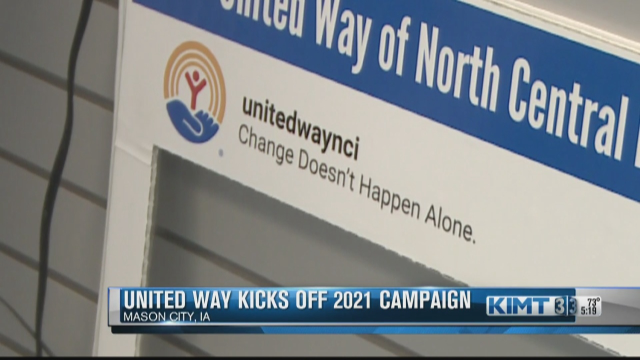 Image for United Way of North Central Iowa kicking off 2021 fundraising campaign