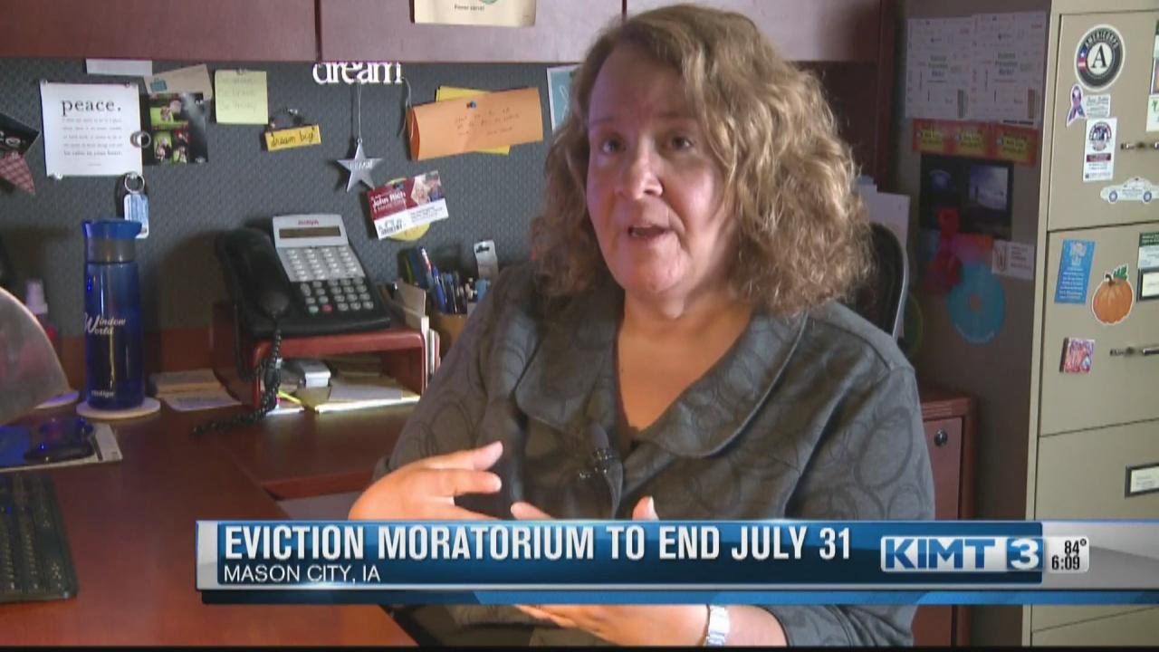Image for Eviction moratorium ends July 31