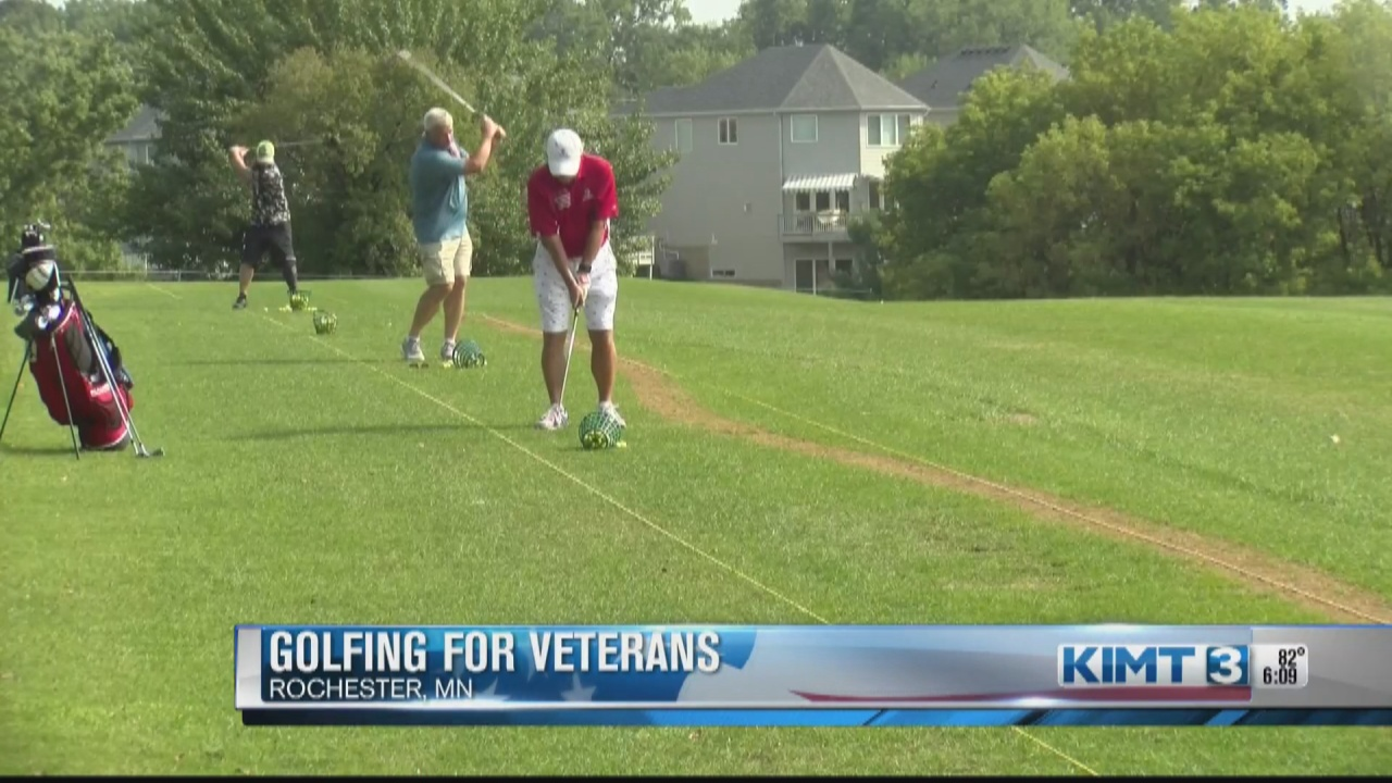 Image for Tee It Up  for the Troops 'reflects the patriotism of the Rochester'