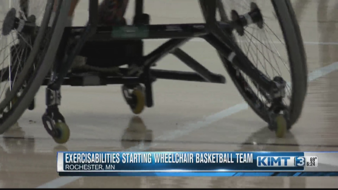 Image for ExercisAbilities hopes to have a wheelchair basketball team in Rochester by 2022