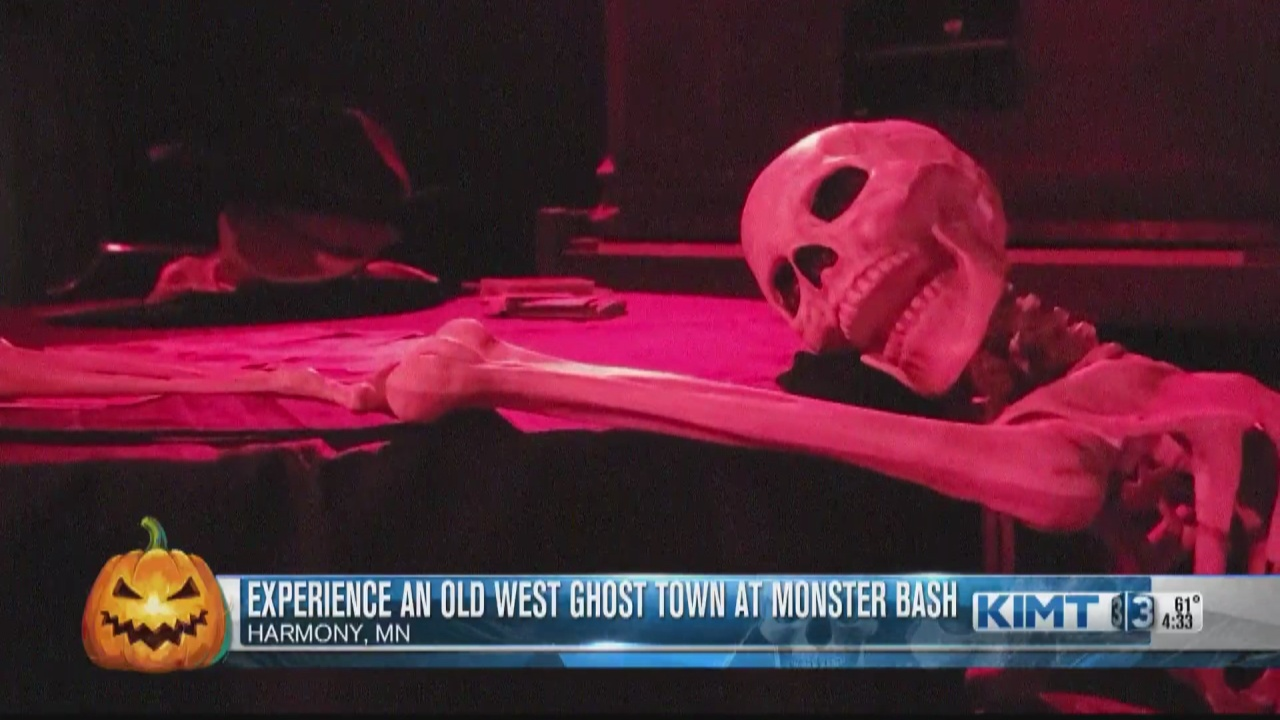 Image for Experience an old west ghost town at Monster Bash