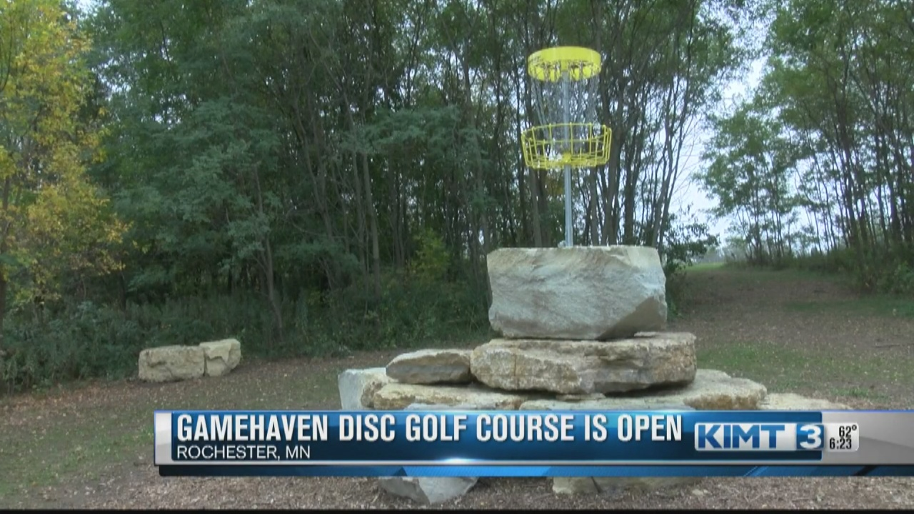 Image for The Driftless Disc Course at Gamehaven Park is open!