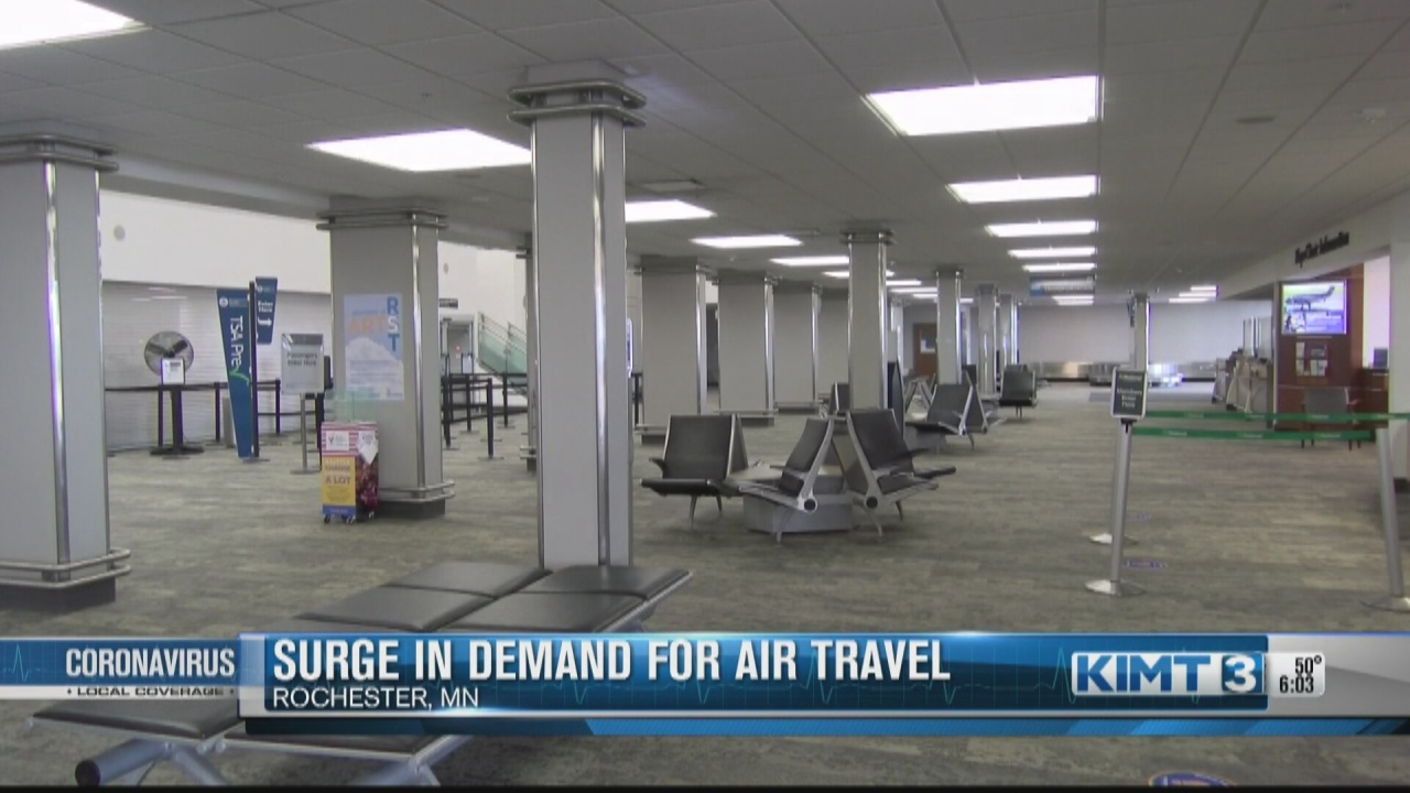 Image for Air travel is in high demand as airports continue looking for more employees
