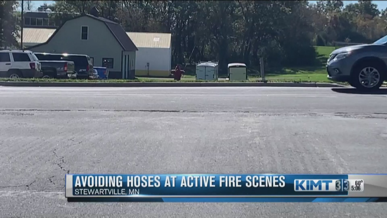 Image for After a scare battling fire, Stewartville Fire Department sends a reminder to community