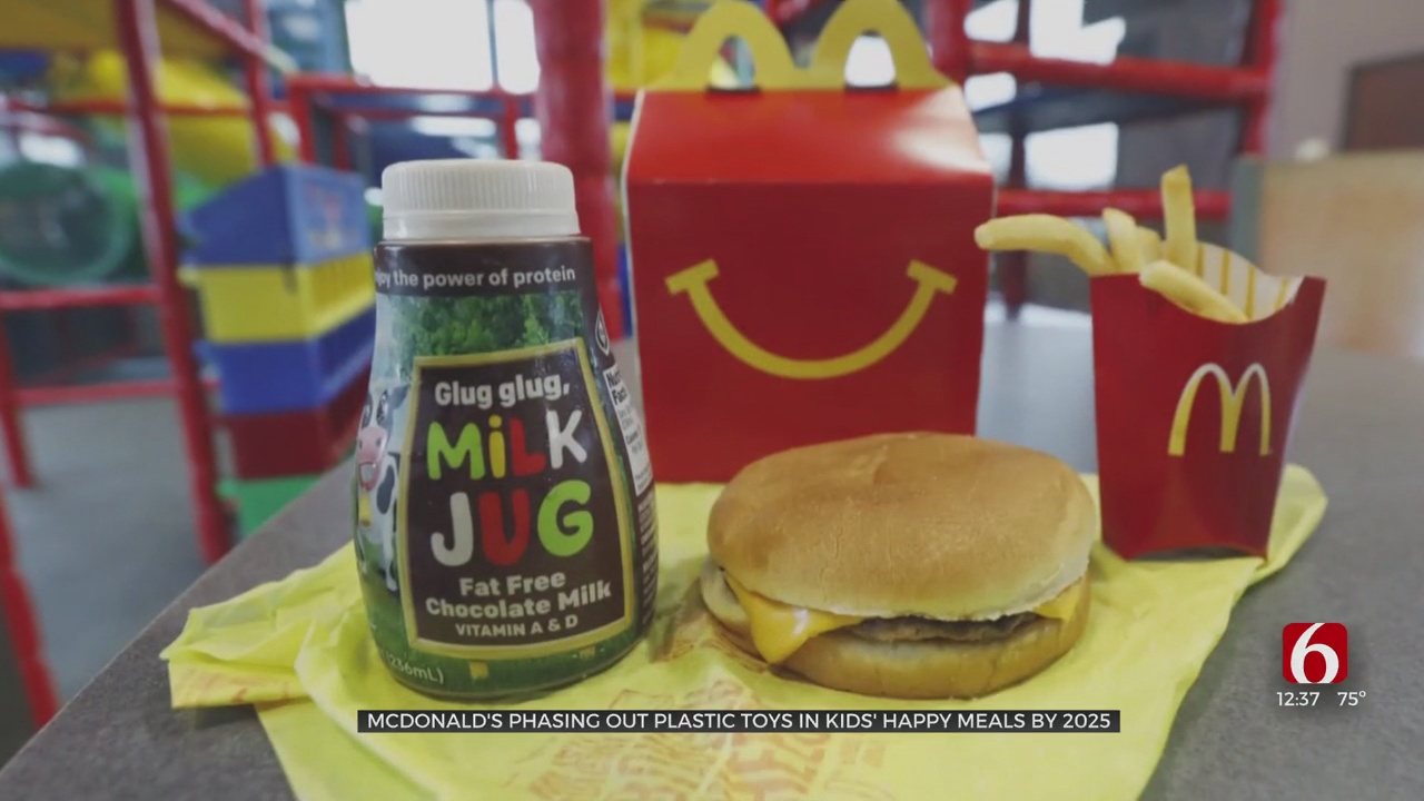 Mcdonald's Phasing Out Plastic Toys In Kids' Happy Meals By 2025