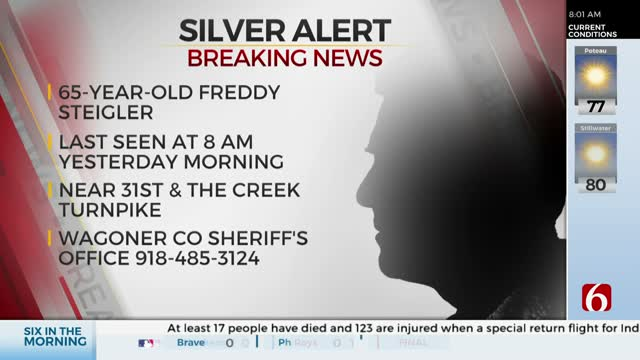 Silver Alert Issued For Missing Wagoner County Man