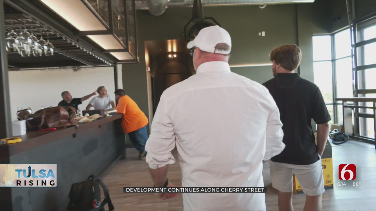 Infusion Of New Businesses Helps Boost Tremendous Growth For Tulsa's Cherry Street