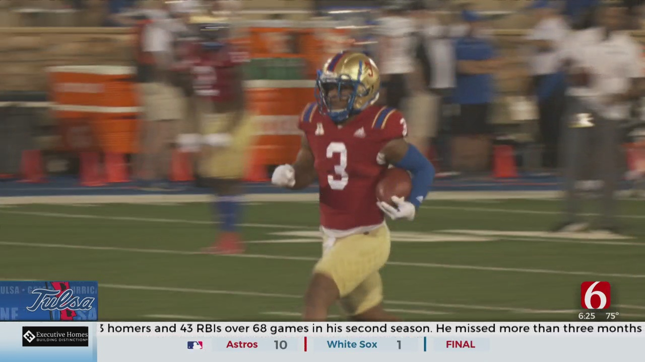 Ground Game Starting To Click For TU As Shamari Brooks Re-Finds Footing
