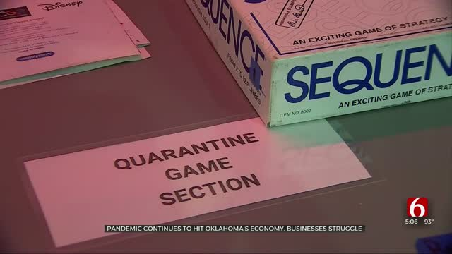 Pandemic Continues To Strike Oklahoma's Economy, Businesses Struggle
