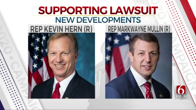 Oklahoma Reps. Hern, Mullin Sign Onto Texas Lawsuit Challenging Election Results