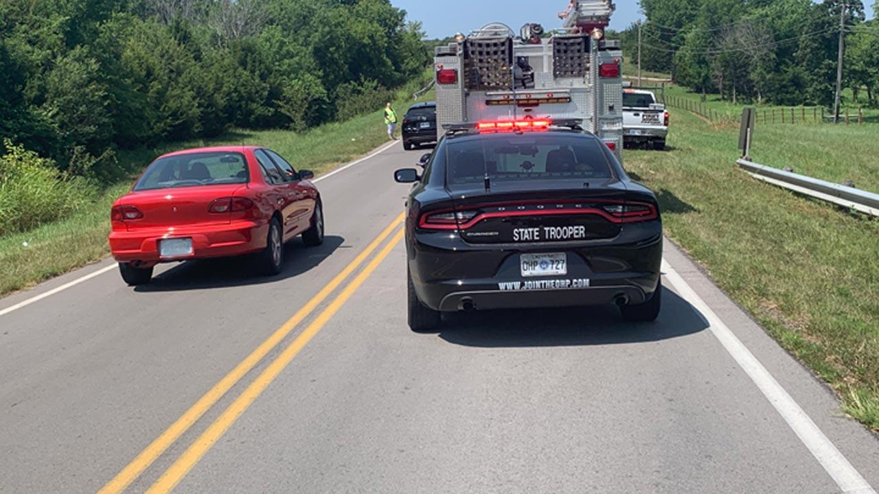 1 Killed In Rollover Crash Near Sand Springs