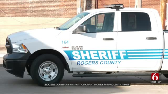 Rogers County To Use Grant Money To Stop Violent Crimes