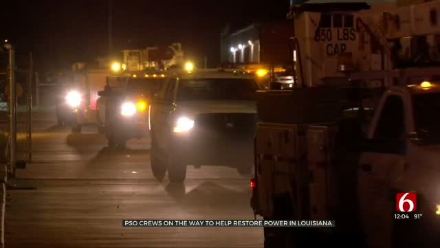 PSO Crews Heading To Louisiana To Help With Recovery After Cat. 4 Hurricane Leaves Damage