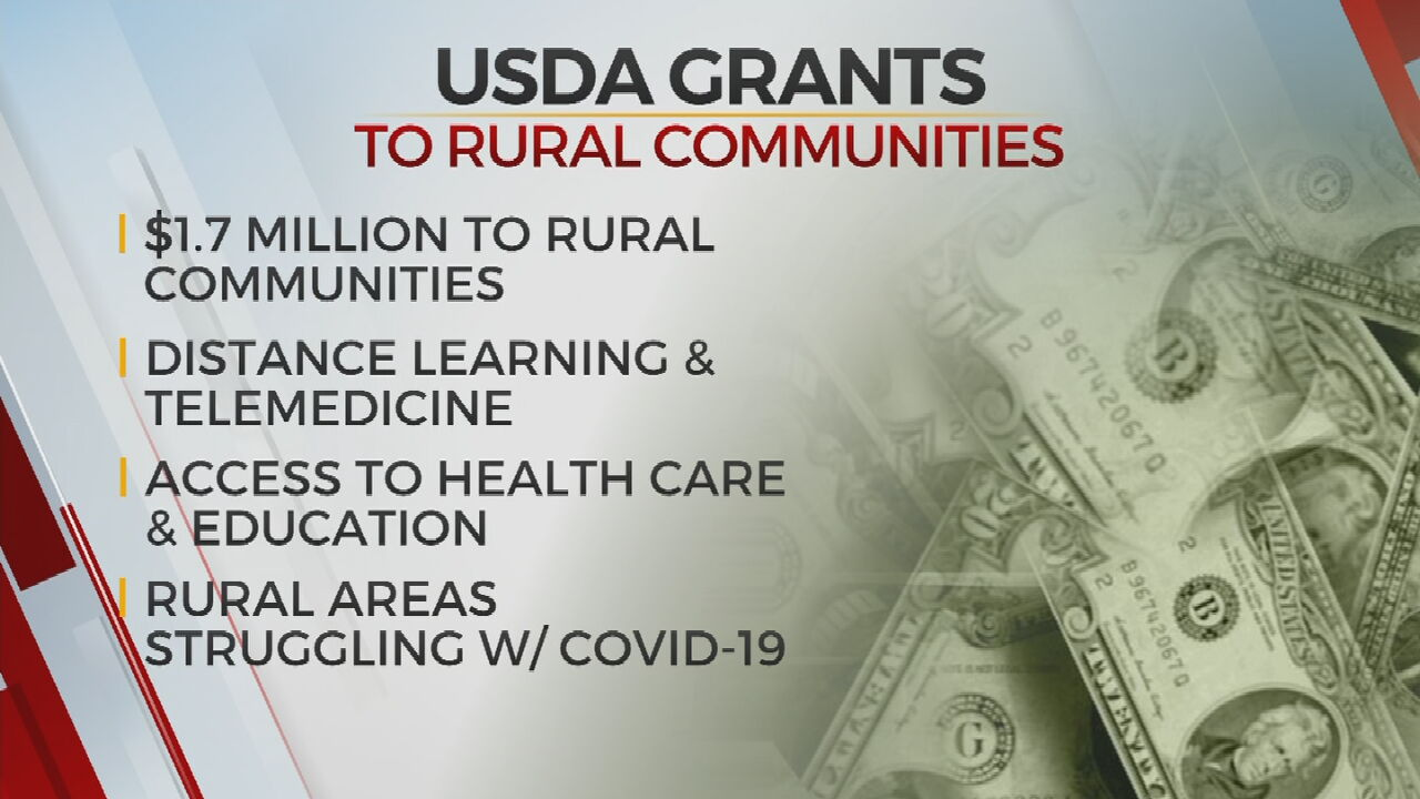 USDA Investing $2M Into Rural Okla. Communities For Distance-Learning, Telemedicine Improvements