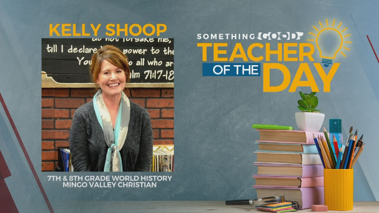 Teacher Of The Day: Kelly Shoop