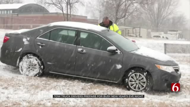 AAA Of Oklahoma Prepares For Busy Night Ahead Of Cold, Rainy New Year's Eve