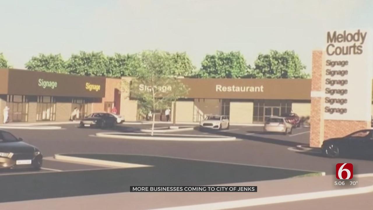 City Of Jenks Announces New Business, Restaurant Center