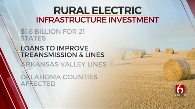 USDA Invests $1.6 Billion In Rural Electric Infrastructure In 21 States, Includes Oklahoma