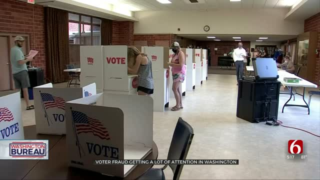 Voter Fraud Attracts Attention In Washington