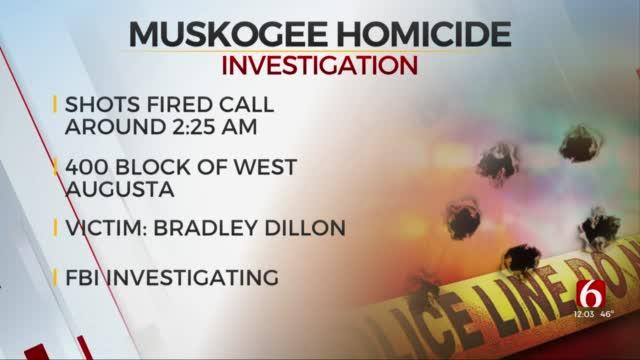 FBI Investigating Deadly Muskogee Shooting