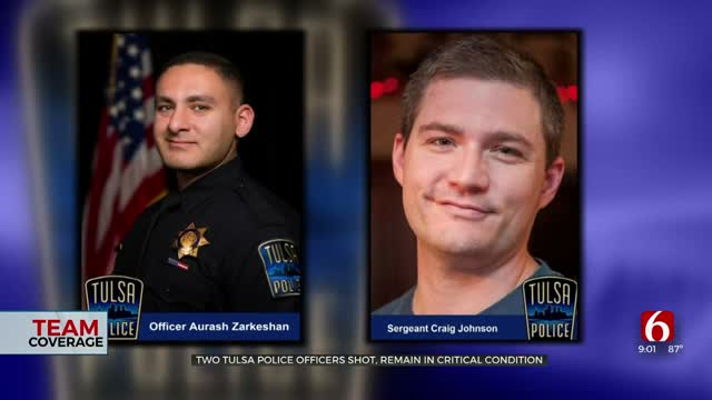Two Tulsa Police Officers Shot, Remain In Critical Condition