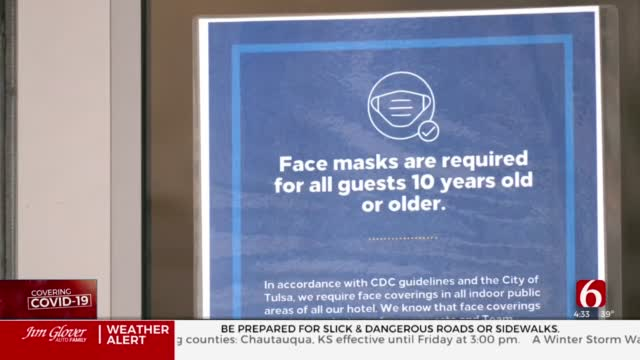 Tulsa Hotel Continues Taking COVID-19 Precautions For New Year's Eve