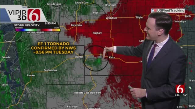 National Weather Service Confirms EF-1 Tornado In Haskell County