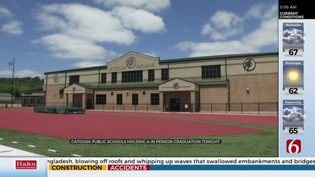 Catoosa High School To Hold In-Person Graduation, Taking COVID-19 Precautions