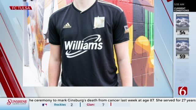 Tulsa Football Club Unveils New Sponsored Jersey