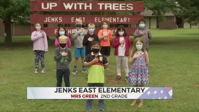 Daily Pledge: Mrs. Green's 2nd Grade Class