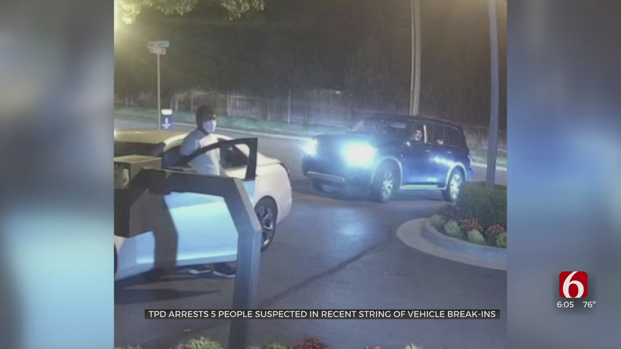 5 Arrested Suspected Of Belonging To Organized Car Theft Ring