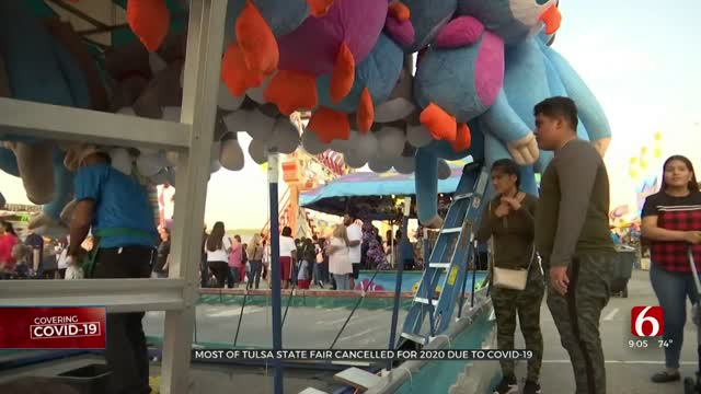 Vendors Feel 'Devastating Blow' After Most Of Tulsa State Fair Canceled
