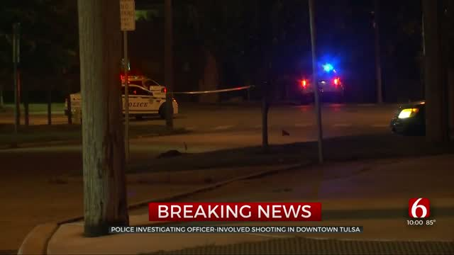 Tulsa Police Investigate Officer-Involved Shooting