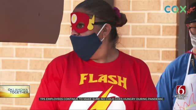 Tulsa Public Schools Holds Super Lunch