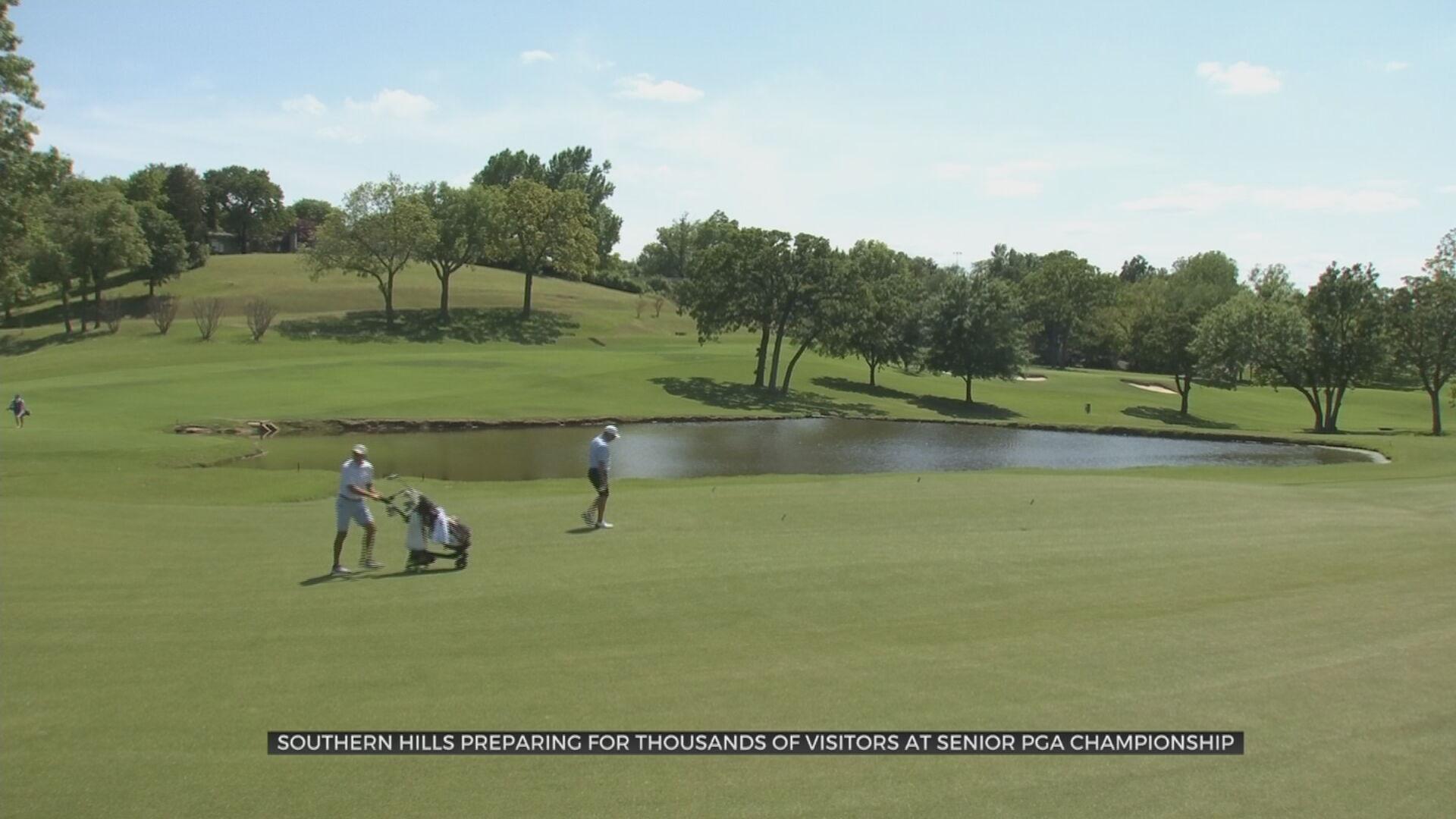 Southern Hills Preparing For Thousands Of Visitors At Senior PGA Championship