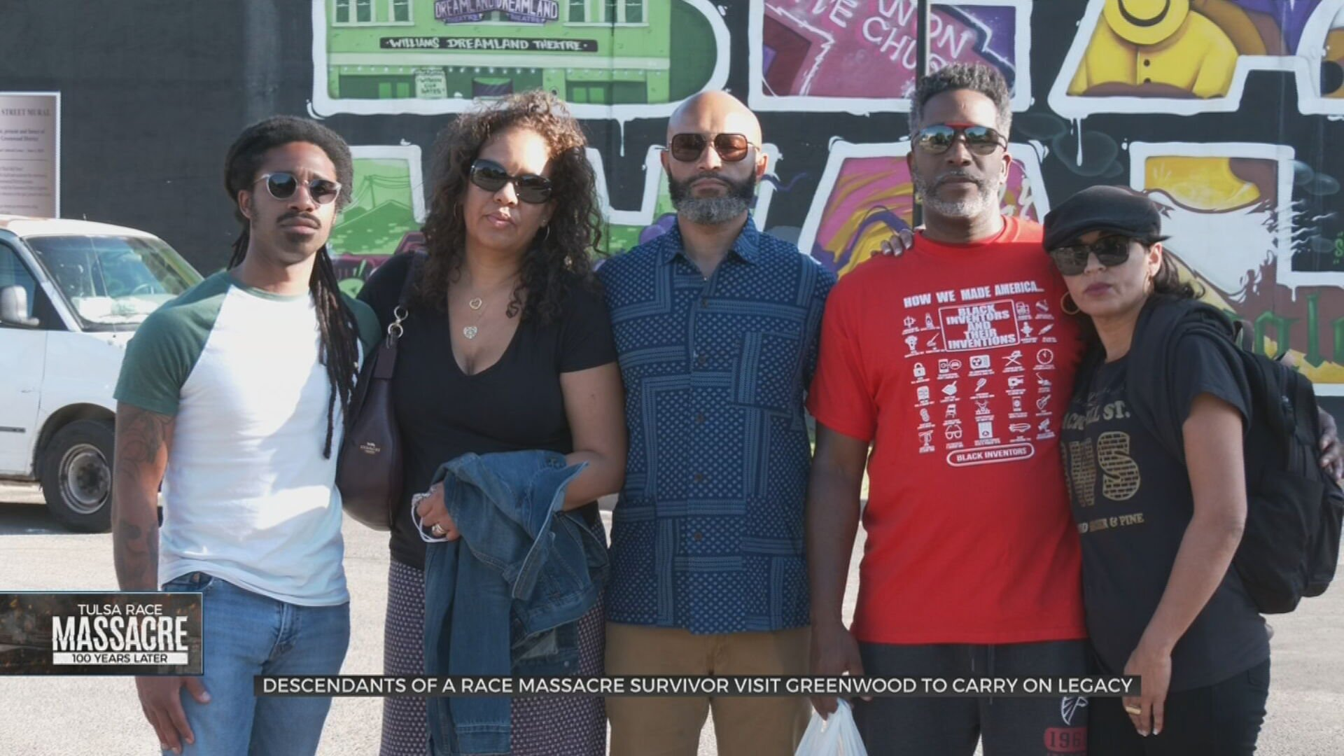Descendants Of Race Massacre Survivor, Tulsa Star Founder Carry On His Legacy