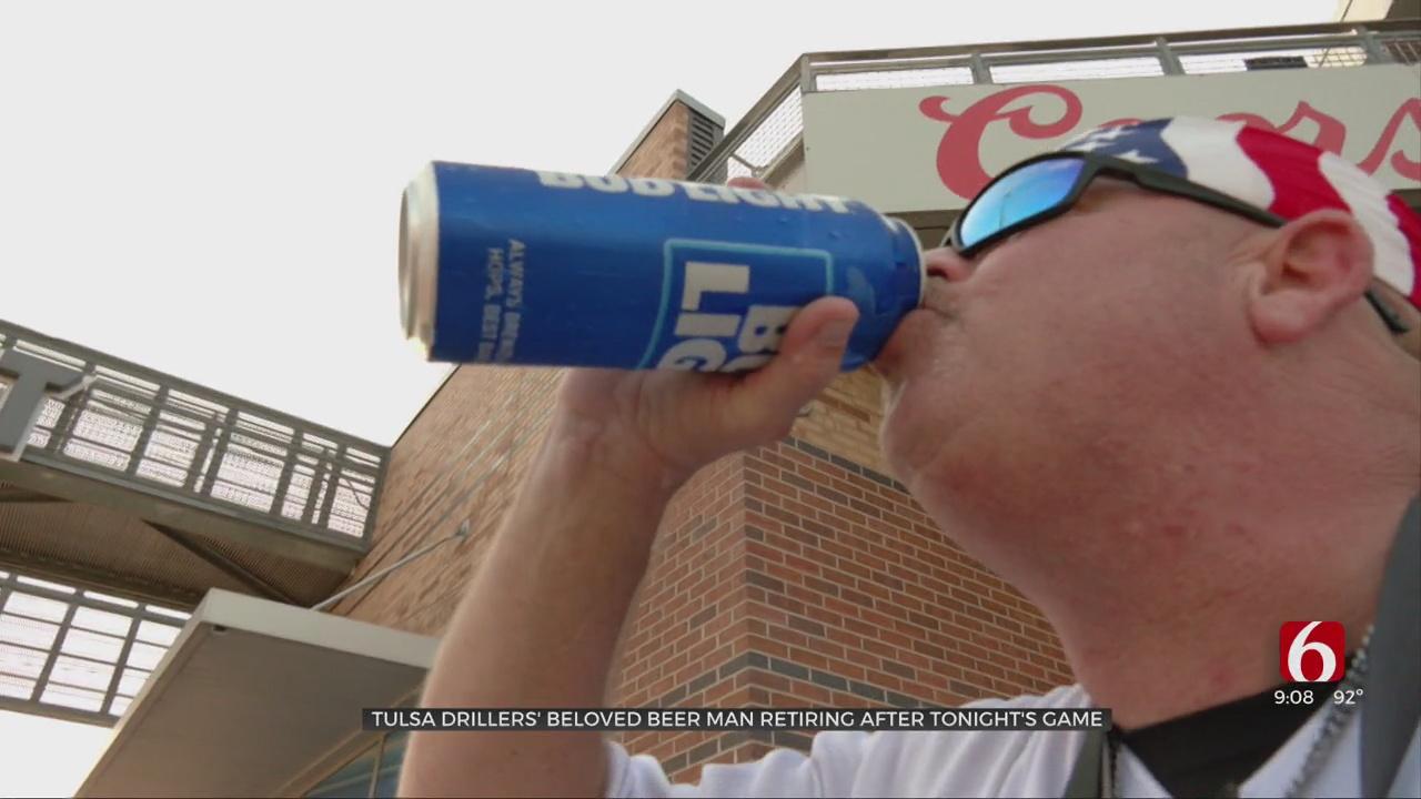 Legendary Tulsa Drillers Beer Man Is Retiring