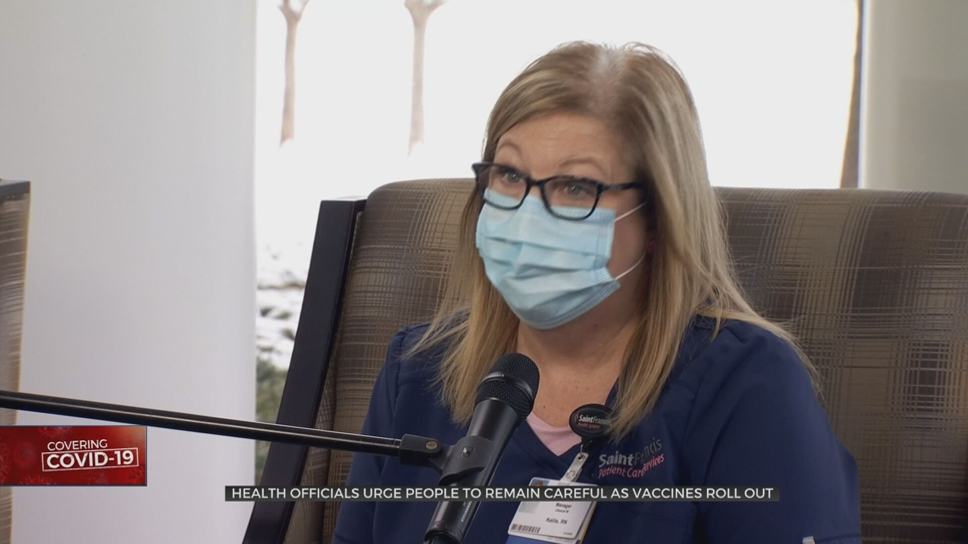 Tulsa Health Official Pleads People To Keep Guard Up Even As Vaccines Roll Out